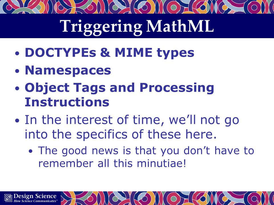 16 ing it up MathPlayer 2.0 contains new support for XHTML + MathML docs.
