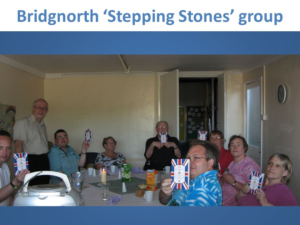 Bridgnorth Stepping Stones group