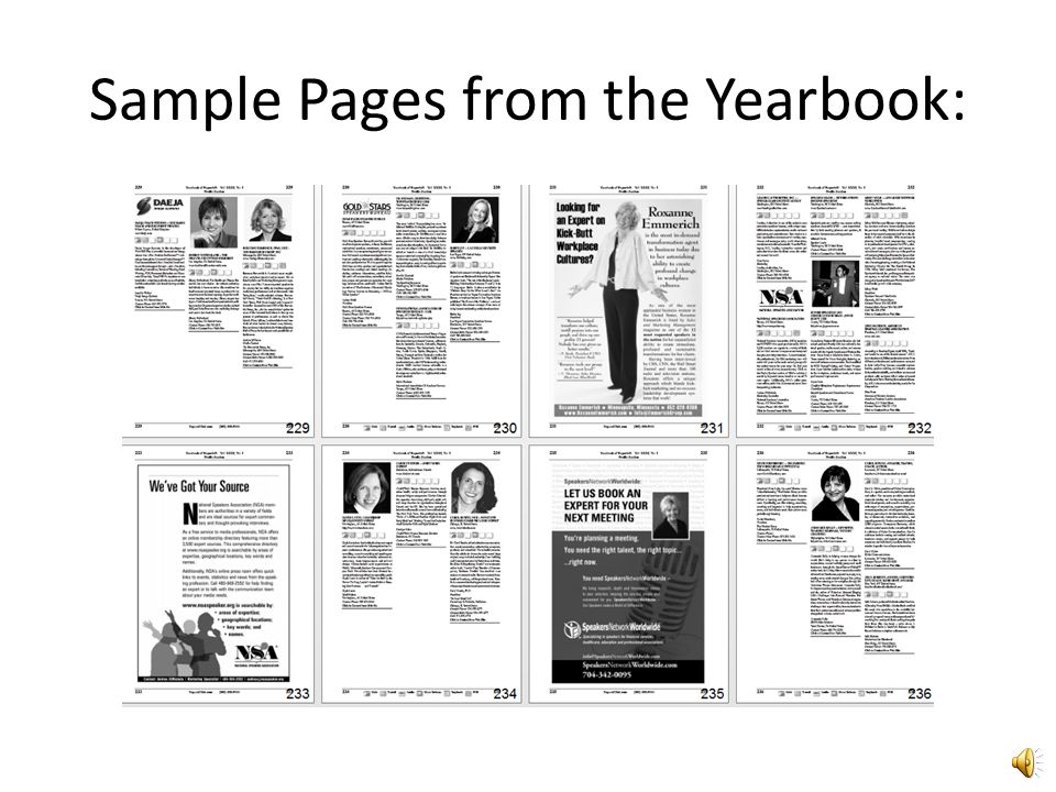 Printed -- Yearbook of Experts®