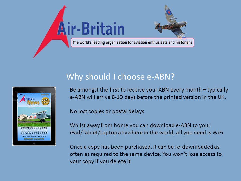 Why should I choose e-ABN.