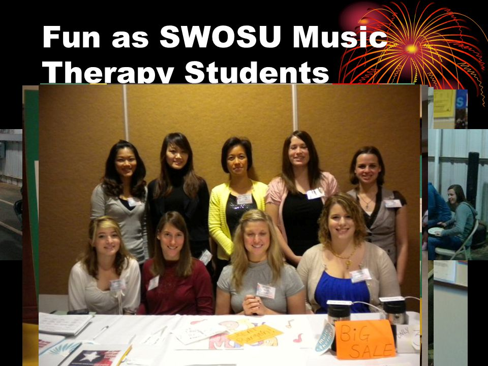 Fun as SWOSU Music Therapy Students