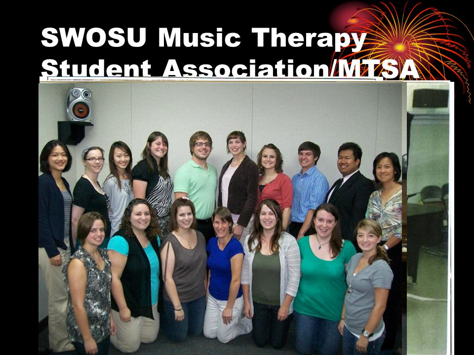 SWOSU Music Therapy Student Association/MTSA 1980s 1990s 2006--Present