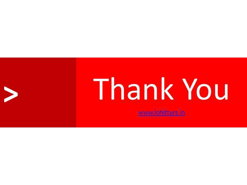 > Thank You www.lohitturs.in www.lohitturs.in