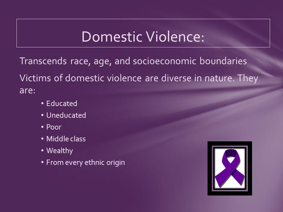 Three million children witness domestic violence every year.