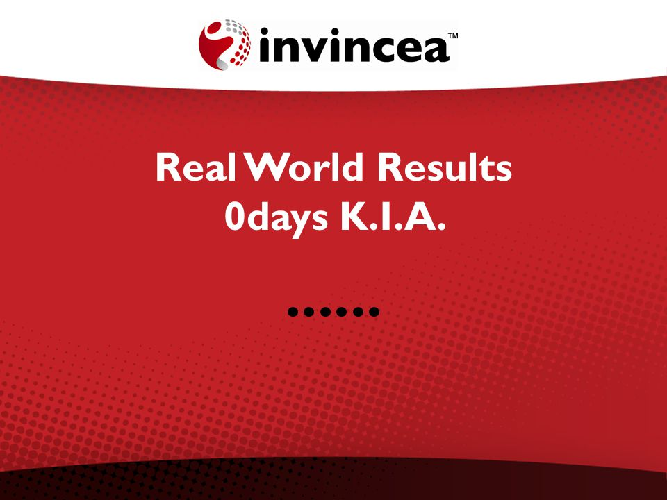 Real World Results 0days K.I.A.