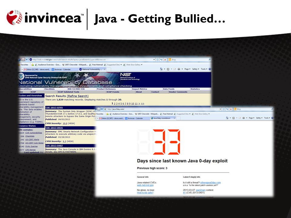 Java - Getting Bullied…