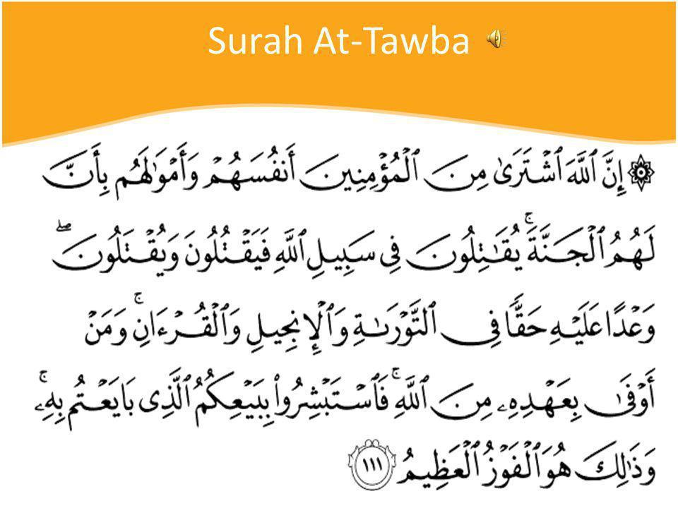 Surah At-Tawba