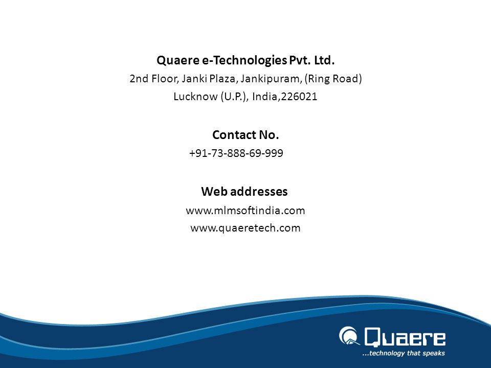 Quaere e-Technologies Pvt. Ltd.