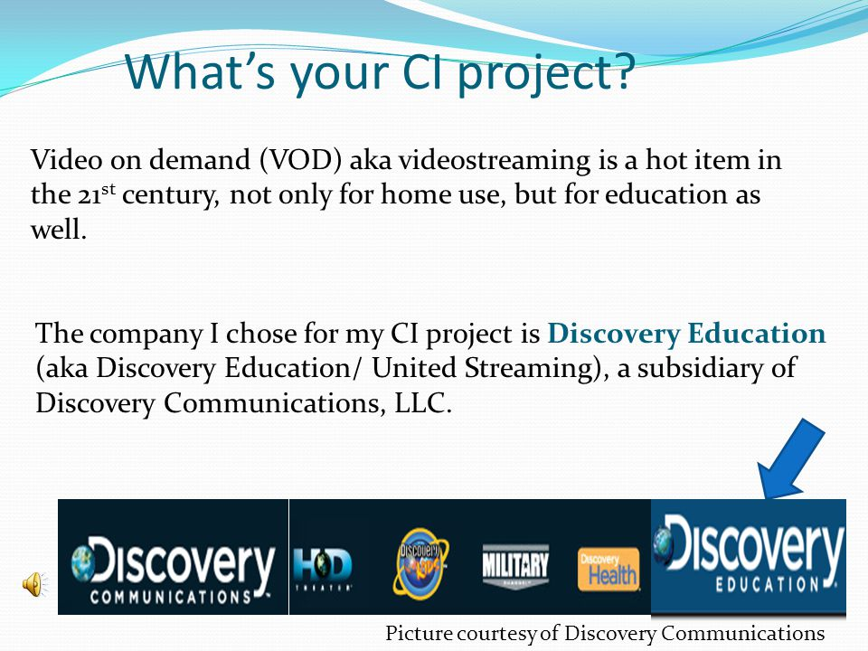 Whats your CI project.