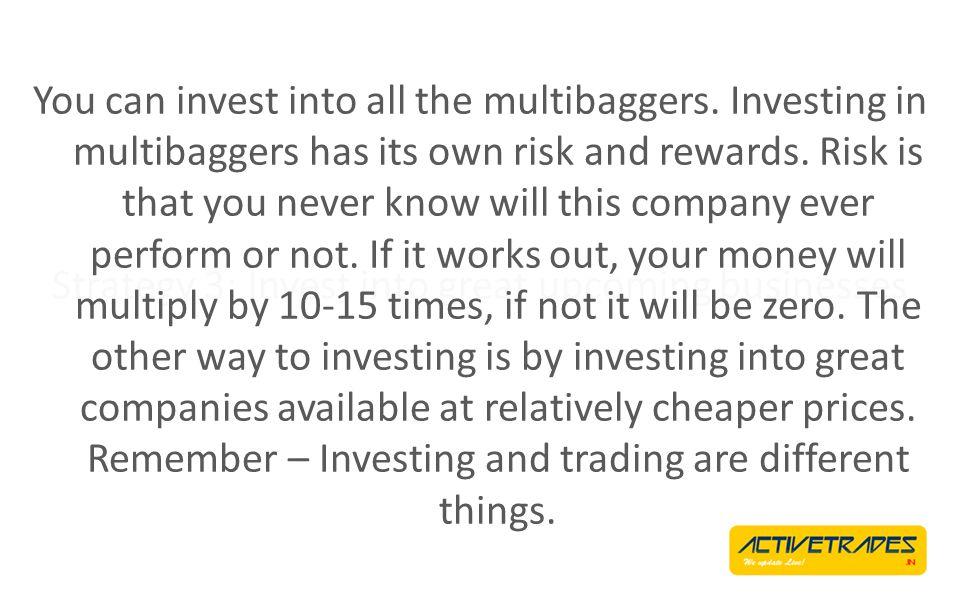 Strategy 2: Trade all moves It is possible to defeat the nothingness and pattern failure by trading all the moves.