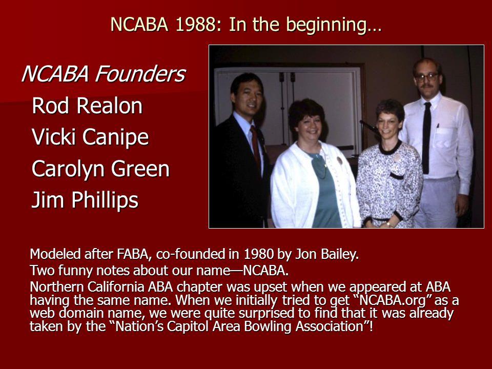 North Carolina ABAI Fellows Rick L.