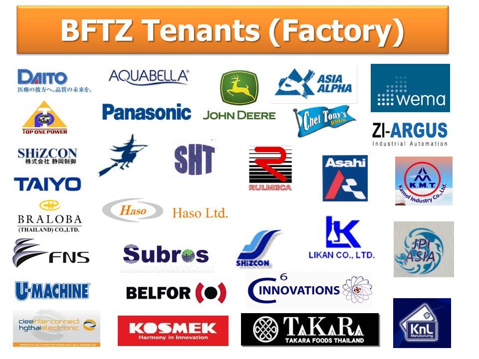 BFTZ Tenants (Factory)