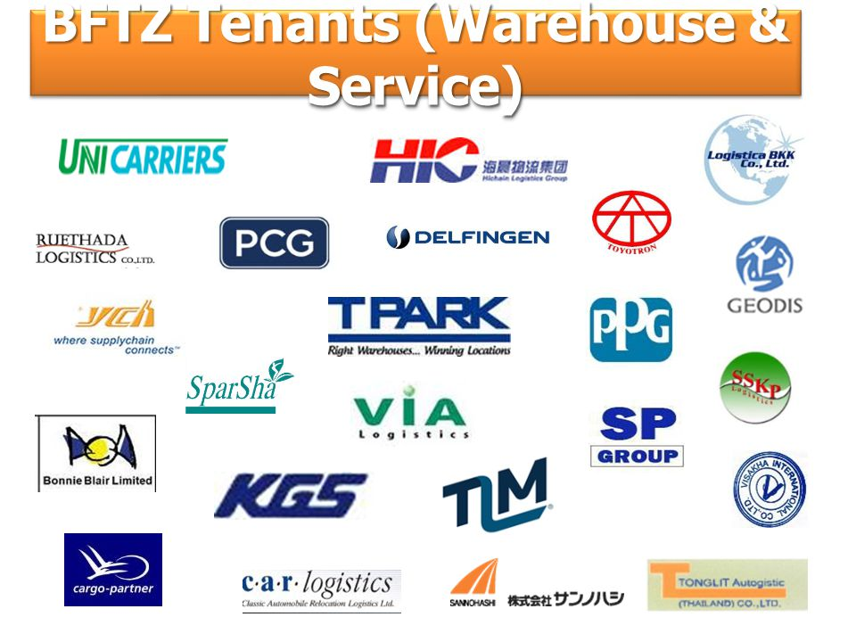 BFTZ Tenants (Warehouse & Service)