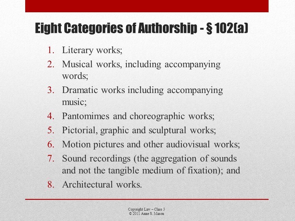 Copyright Law – Class 3 © 2011 Anne S.Mason Design Patents 35 USC § 171 – 14 year term.