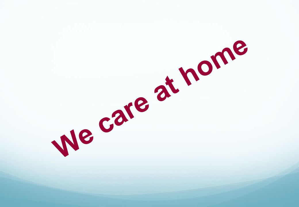 We care at home