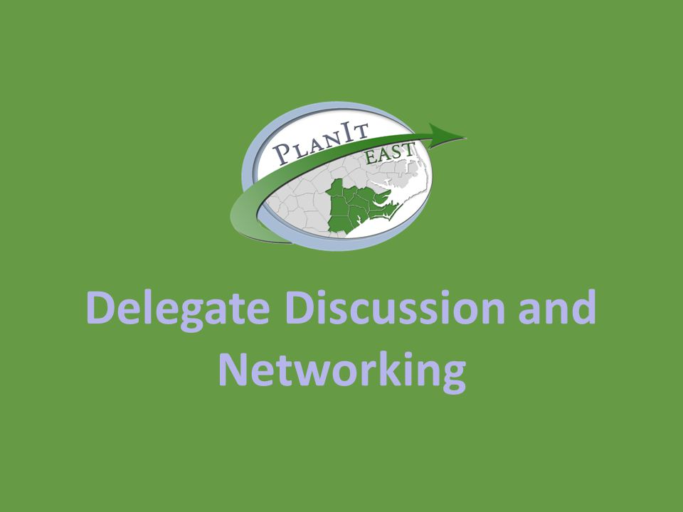 Delegate Discussion and Networking