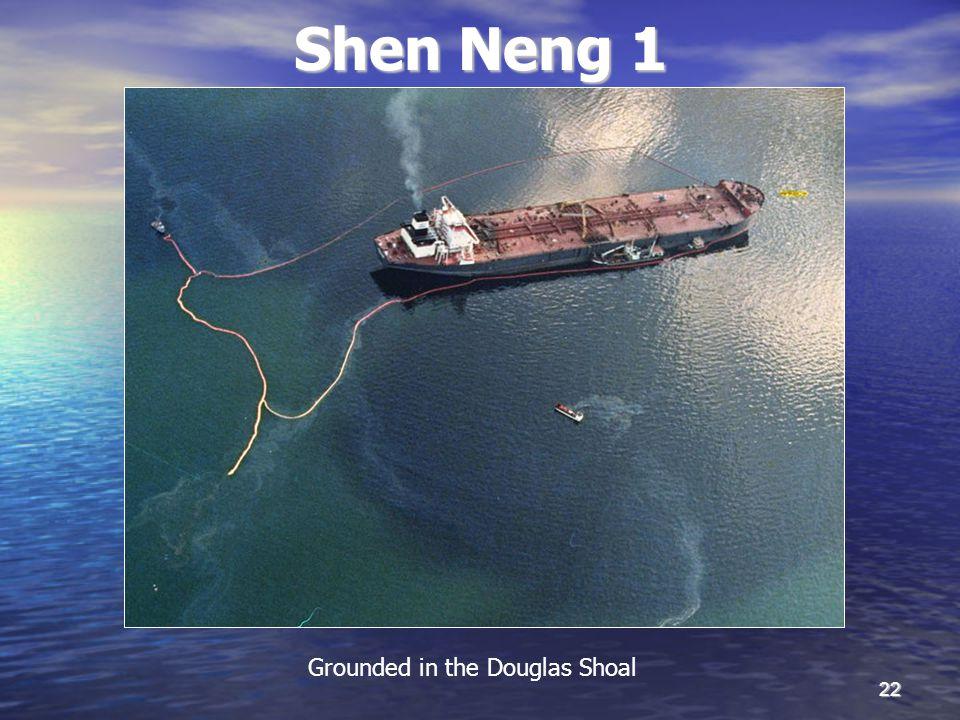 22 Shen Neng 1 Grounded in the Douglas Shoal
