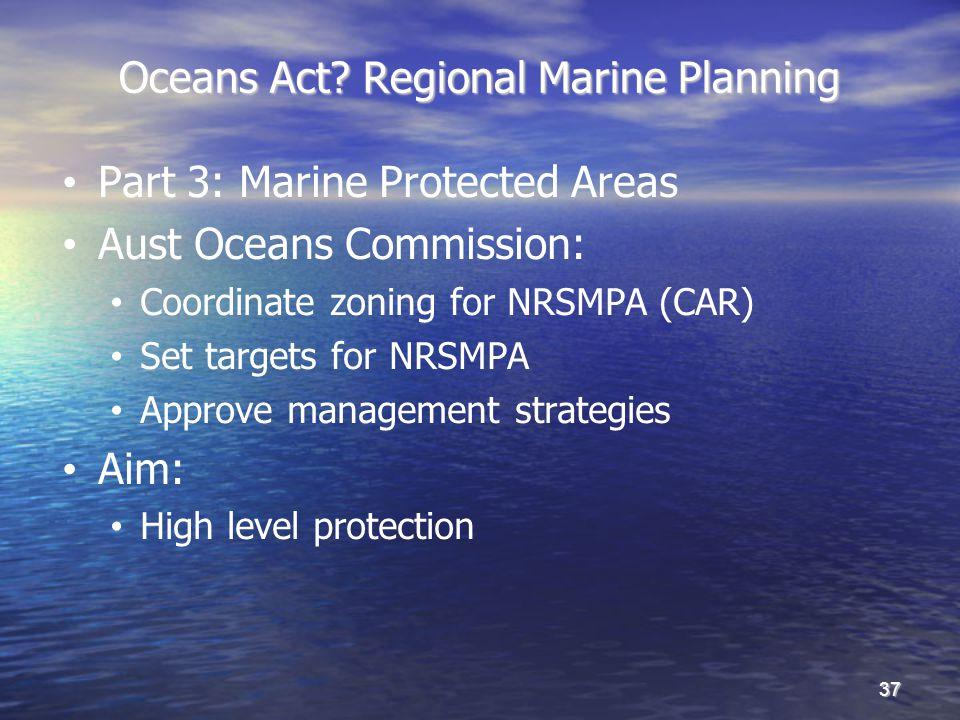 Oceans Act.