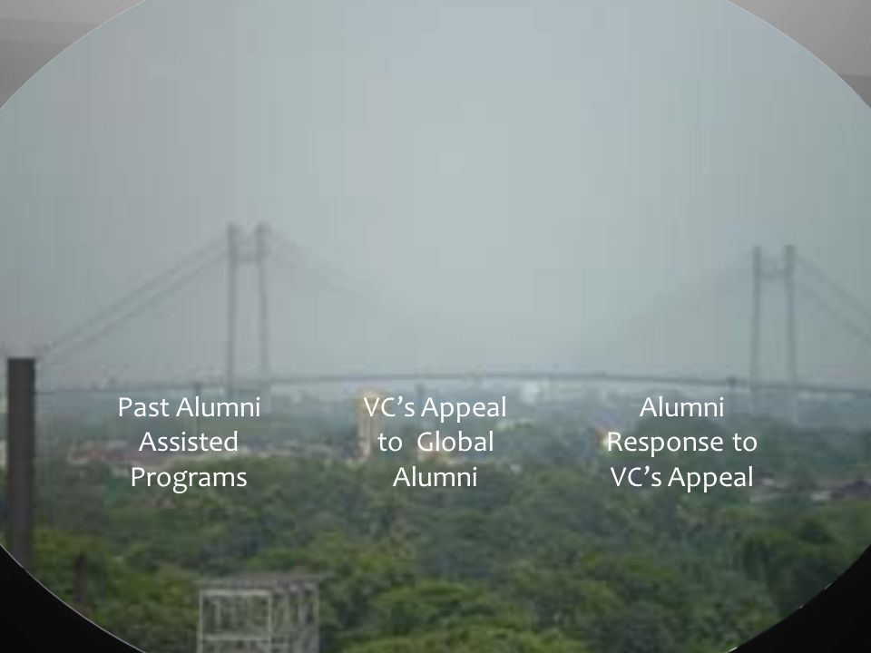 Past Alumni Assisted Programs VCs Appeal to Global Alumni Alumni Response to VCs Appeal