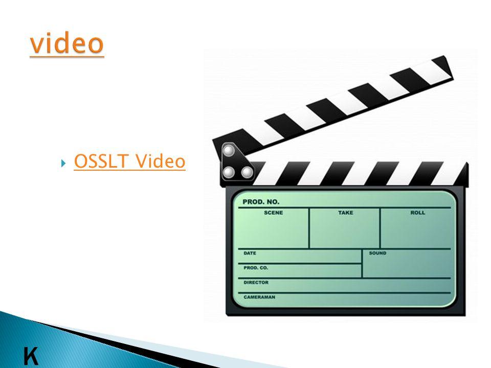 OSSLT Video K