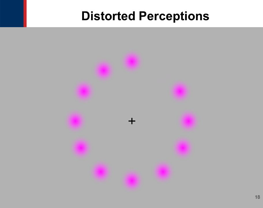 18 Distorted Perceptions 18