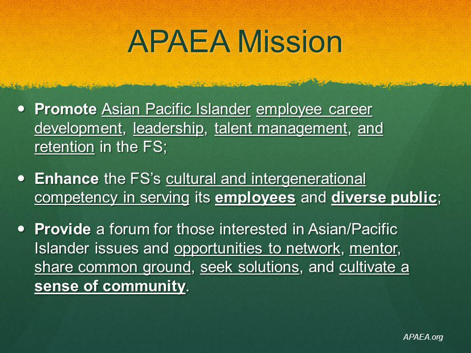 APAEA.org https://ems-team.usda.gov/sites/fs-chief-apaea/SitePages/Home.aspx