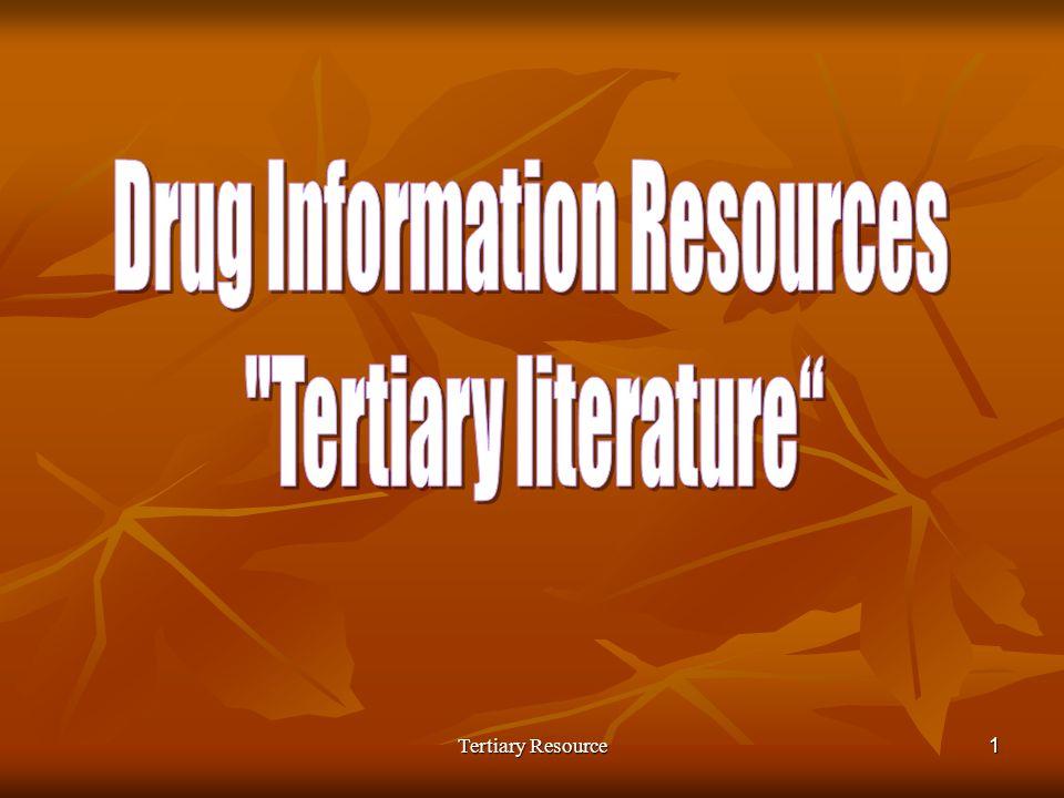 Tertiary Resource1
