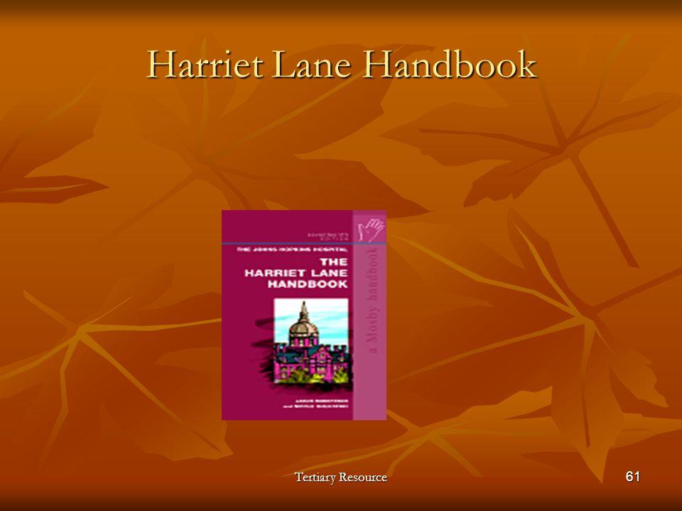Harriet Lane Handbook Tertiary Resource61