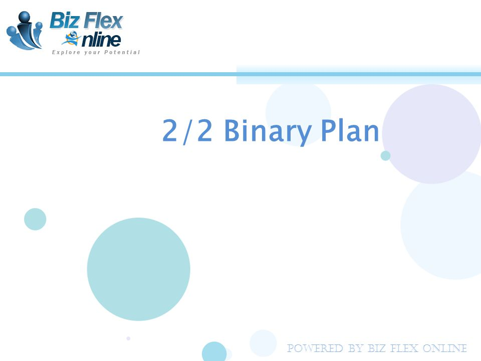 2/2 Binary Plan Powered By Biz Flex Online