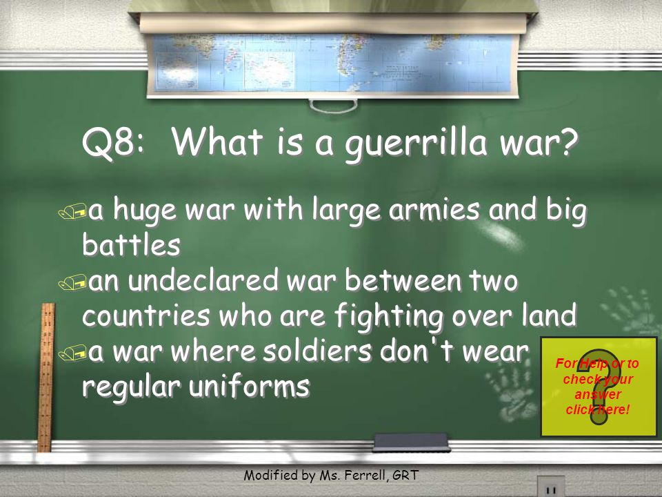 Q7: Answer / Both published yellow news reports. Return Modified by Ms. Ferrell, GRT