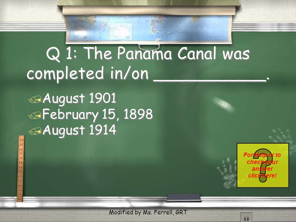 Q16: Before we declared war on Spain, the U.S.