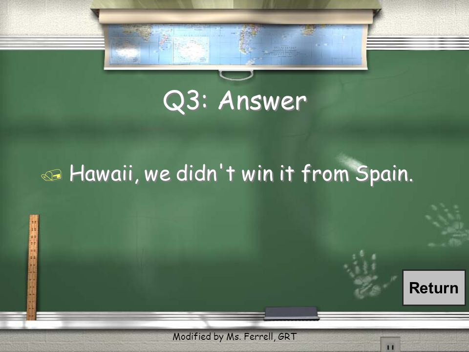 Q13: Answer / We ll fix problems in Latin American nations if they themselves don t fix them.