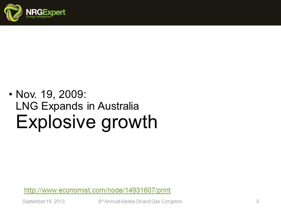 Jul.27, 2013 Australias gas explorers (I) The Next Qatar.
