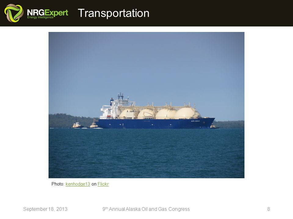 19September 18, 20139 th Annual Alaska Oil and Gas Congress http://www.nrgexpert.com/9th-annual-alaska-oil-and-gas-delegate-report/