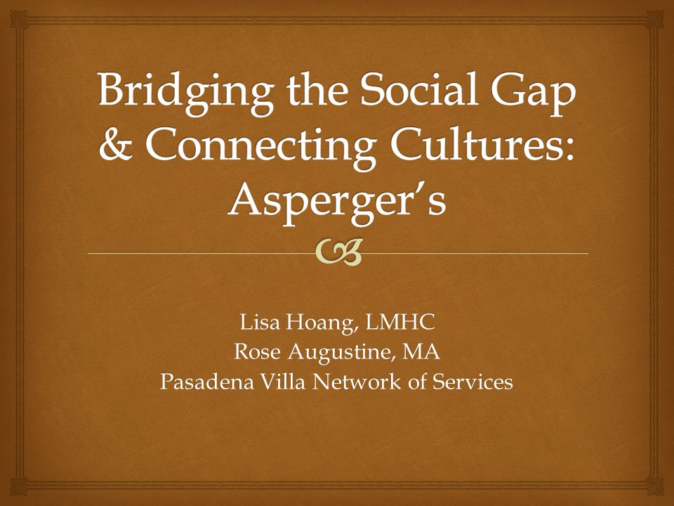Social Integration Model Delivery of therapeutic services in the natural environment is embedded in the DNA of the Social Integration Model.