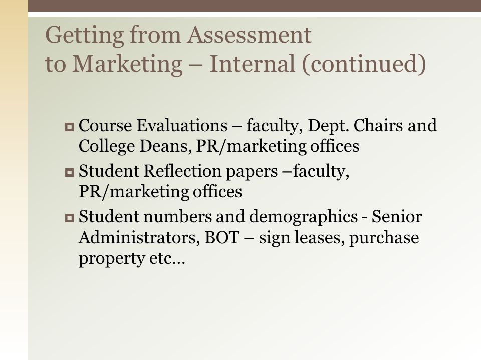 Course Evaluations – faculty, Dept.