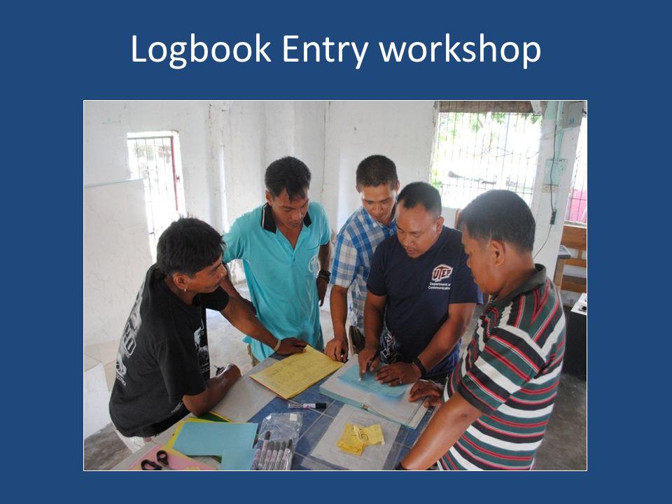 Logbook Entry workshop