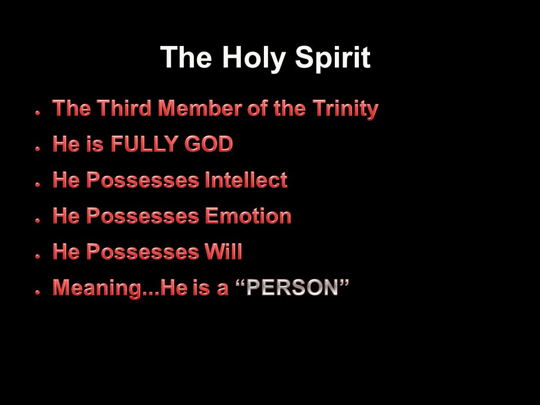 The Holy Spirit 11Applied-Apologetics
