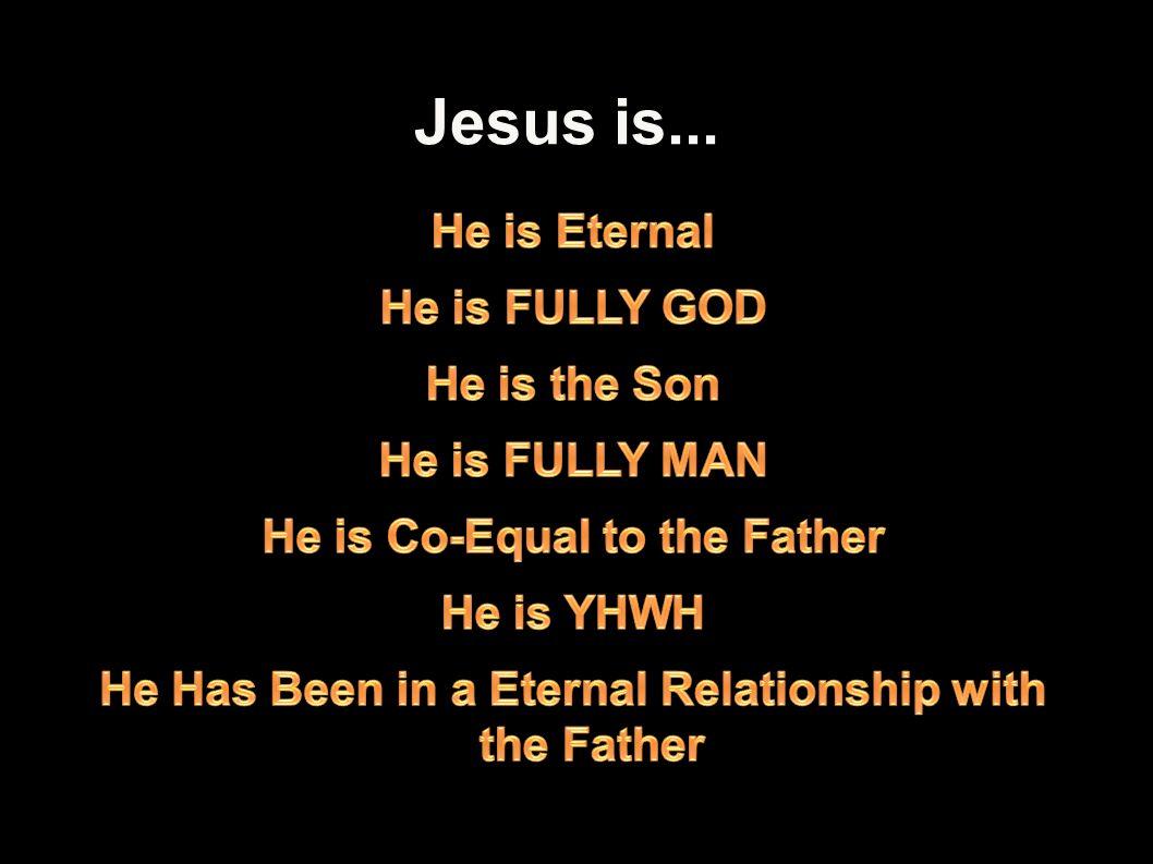 Jesus is... 13Applied-Apologetics