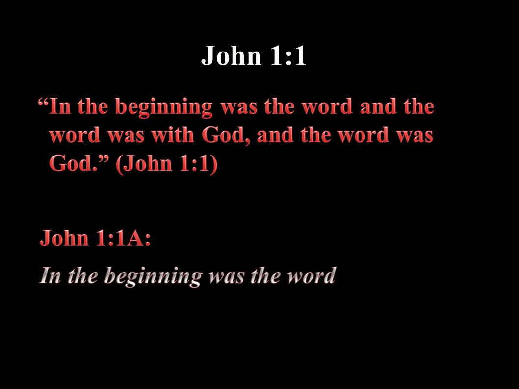 John 1:1 14Applied-Apologetics