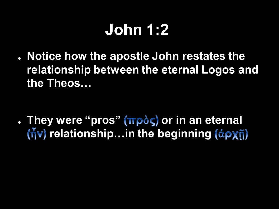 John 1:2 31Applied-Apologetics