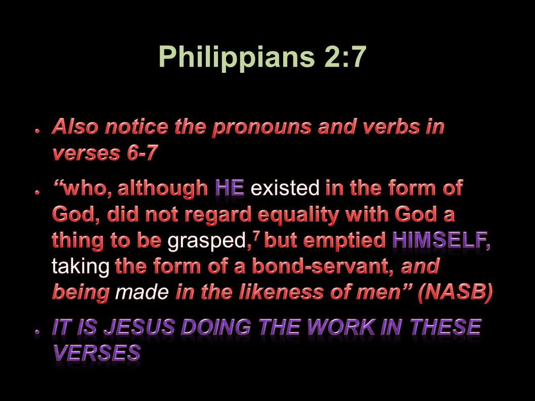 Philippians 2:7 68Applied-Apologetics