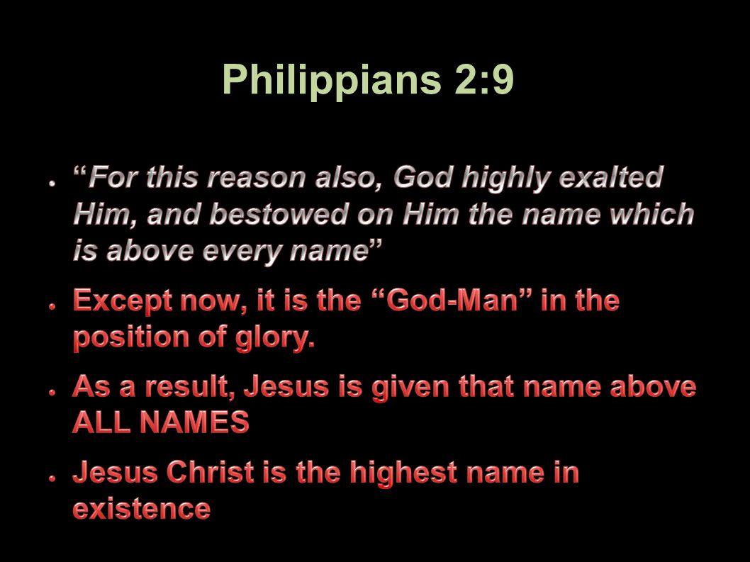 Philippians 2:9 74Applied-Apologetics
