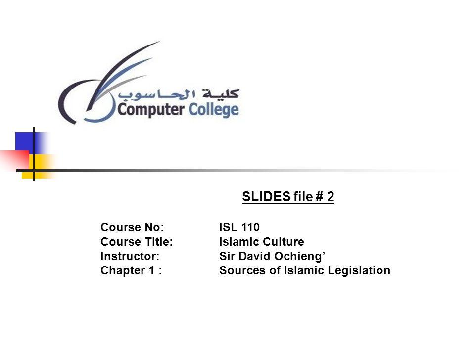 SOURCES OF ISLAMIC LAW QURAAN AL-IJMAH Al-Ijtihad SUNNAH QIYAS Al-Istihsan Al-Masalih al-Mursala Sadd al-Dharai Al-Urf Al-Istishab Sharu min Qablana Qawl al-Sahabi 4 schools of Sunni Jurispr- udence