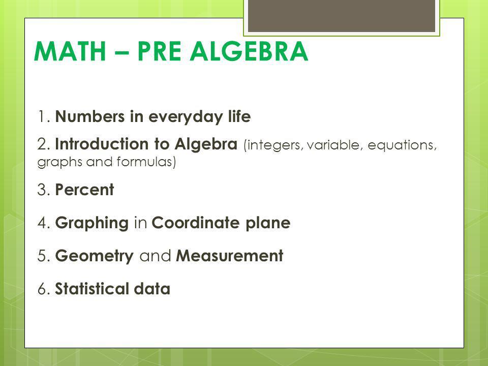 Homework: 10% All homework assigned over a quarter will be part of that grade.