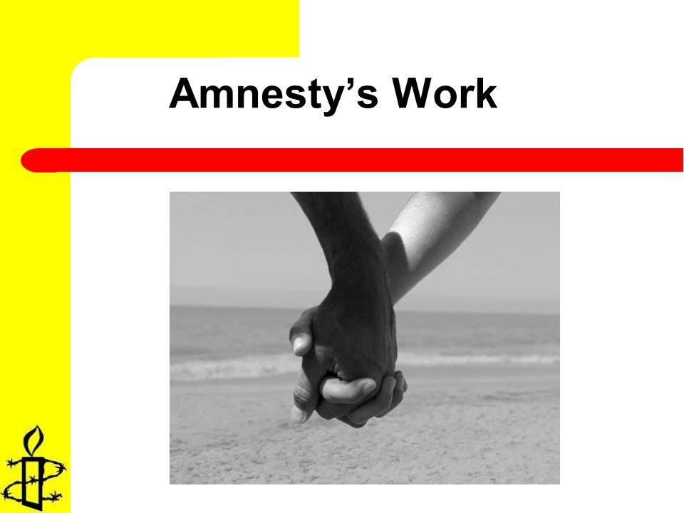 Amnestys Work