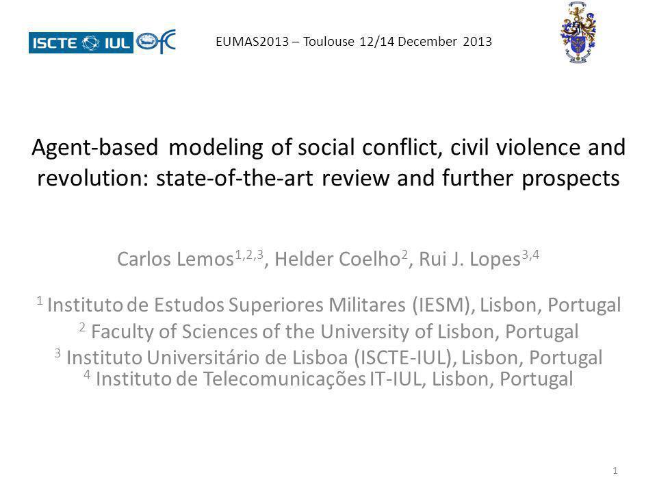 22 EUMAS2013 – Toulouse 12/14 December 2013 REPRESENTATIVE RESULTS (source: Makowsky & Rubin, 2011):