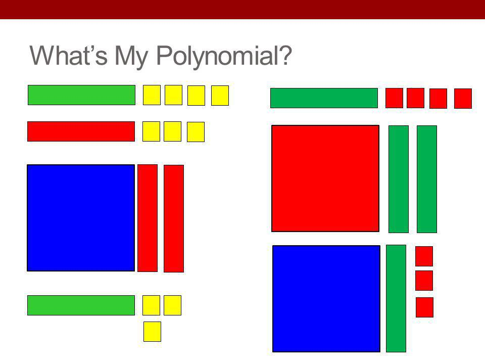 Whats My Polynomial?