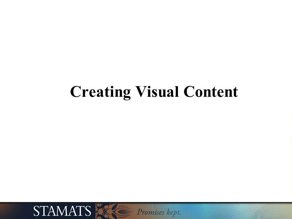 Creating Visual Content