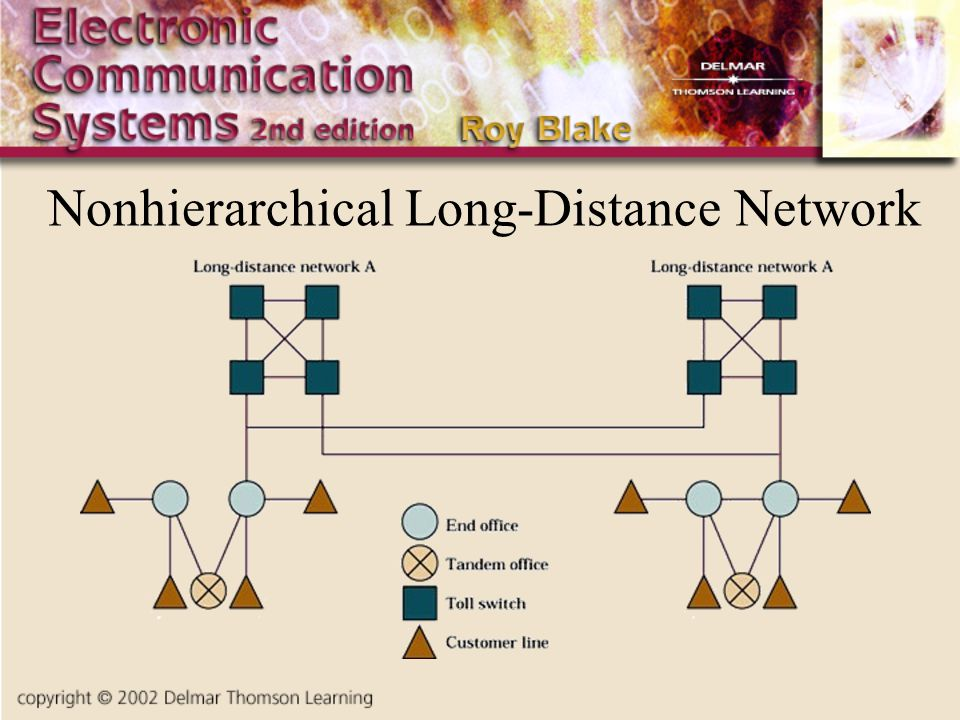 Nonhierarchical Long-Distance Network Insert fig. 8.3